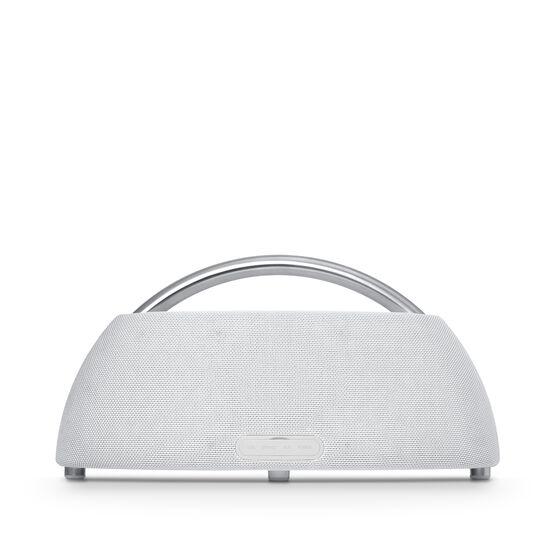 Go + Play - White - Portable Bluetooth Speaker - Back