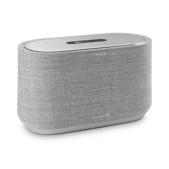 Harman Kardon Citation 300 - Grey - The medium-size smart home speaker with award winning design - Hero