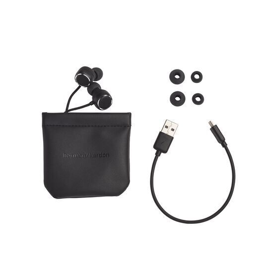 Harman Kardon FLY BT - Black - Bluetooth in-ear headphones - Detailshot 5