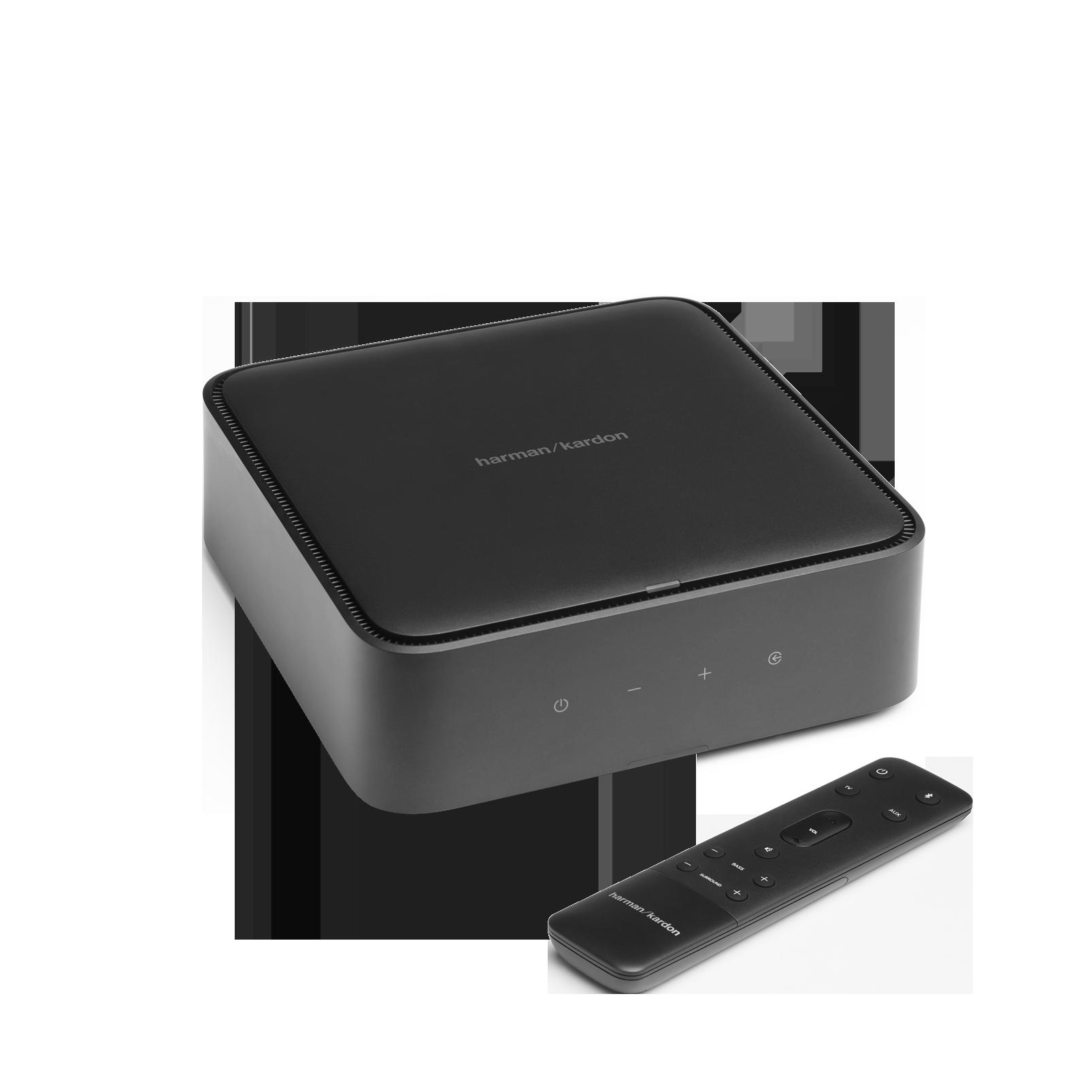 Harman Kardon Citation Amp - Black - High-power, wireless streaming stereo amplifier - Hero