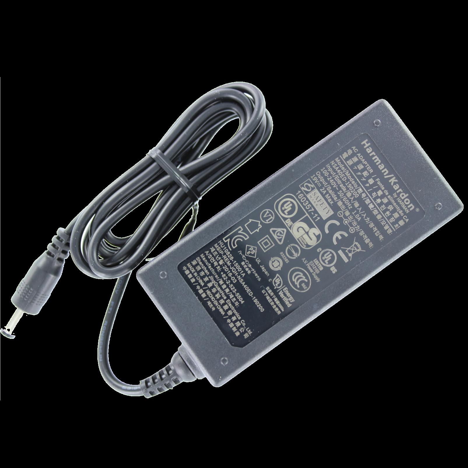 Power adapter, HK Onyx Studio - Black - Hero