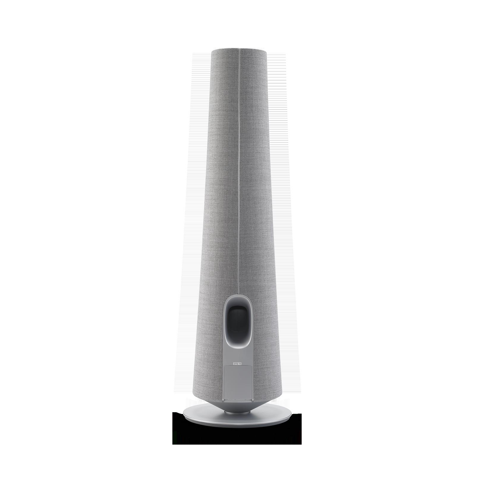 Harman Kardon Citation Tower - Grey - Smart Premium Floorstanding Speaker that delivers an impactful performance - Back